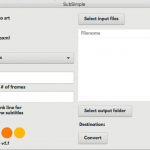 SubSimple Mac App Screengrab